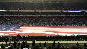 Alamo Flag Gigantic American Flag Unfurled At Valero Alamo Bowl 2016 Youtube