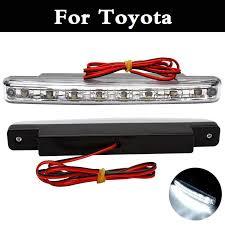 where to get brake light fixed 8 led dc 12v daytime running light fixed iron plate drl for