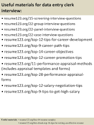 Data Encoder Resume Top 8 Data Entry Clerk Resume Samples
