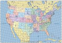 map us canada united states usa digital vector maps editable