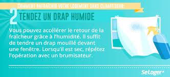 refroidir chambre de culture canicule 5 astuces pour rafraîchir votre logement sans climatiseur
