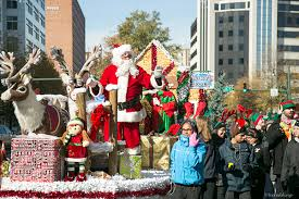silver sights santa in annual parade takoma voice
