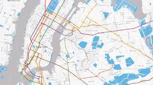 Mta Map Mta Real Time Data Conversion Avail