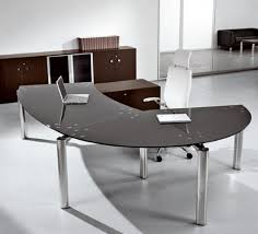 curved office desk awesome for small office desk decoration ideas