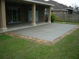 Simple Backyard Patio Ideas Concrete Patio Design Ideas Interior Design