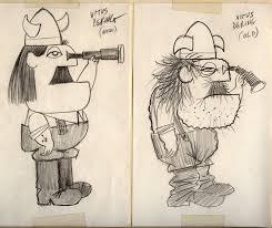 the character design of ward kimball