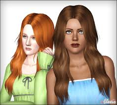 sims 3 hair custom content mod the sims diamond rose long and wavy hair for females
