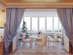 unique curtains modern home dining room curtains with white