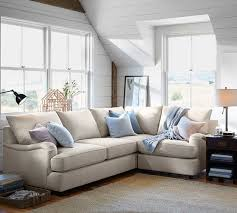 Sectional Pottery Barn Pb Comfort English Arm Upholstered 3 Piece Sectional With Corner