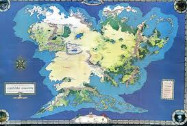 The Hobbit Map Profantasy Community Forum Ice Middle Earth Map