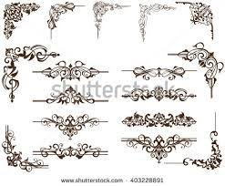 frame ornaments free vector stock graphics images