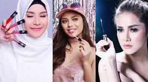 Lipstik Zaskia Adya Mecca tak hanya andalkan dunia hiburan 7 artis ini rambah bisnis lipstik