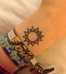 sun tattoos designs pictures page 4