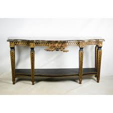 french style granite top console table granite tops french