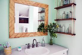 Framing Builder Grade Bathroom Mirror Builder Grade Boring Turned West Elm Ish Awesome Angie U0027s Roost