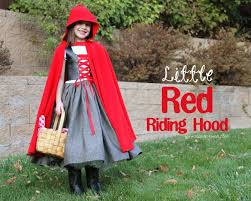 Red Riding Hood Costume Halloween Costumes 2012 Little Red Riding Hood Make It And