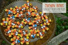 turkey bites diy thanksgiving treats for