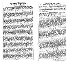 what robert e lee wrote to the times about slavery in 1858 the