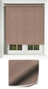 Tweed Roman Blinds Linen Effect Roller Blinds Value For Money