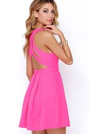 best 25 neon pink dresses ideas on pinterest chevron dress