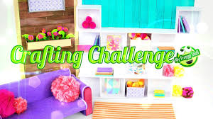 Challenge How To Diy Eeboo Craft Challenge How To Make A Doll Room Doll Crafts