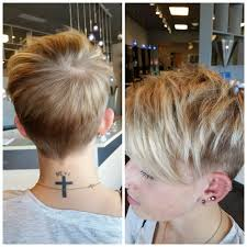 short hairstylescuts for fine hair with back and front view cute short pixie cut for women hairstyles weekly