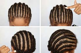 how to braid hair with middle part crochet braid pattern best braid pattern for crochet braids