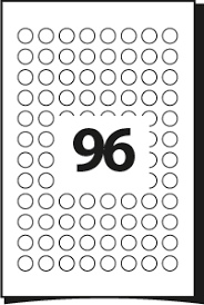 round circular labels template for labels