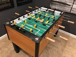 space needed for foosball table foosball table electronic sound system game room info