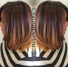 medium length hair with ombre highlights sleek and sexy hair beauty with ombre straight hair