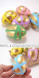 gold easter eggs pastel and gold easter eggs a bigger
