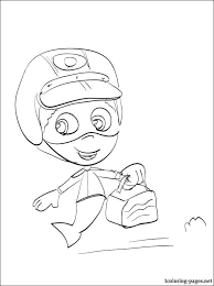 bubble guppies coloring cards coloring pages