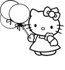 lots free printable kitty coloring sheets coloring