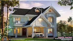 awesome european style house in kerala kerala home design and