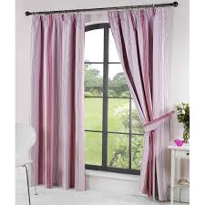 thermal blackout readymade curtains pink