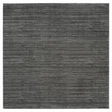 Solid Gray Area Rug by 5 U0027x5 U0027 Loomed Square Area Rug Gray Solid Safavieh Target