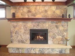 Stacked Stone Around Fireplace by New Chic Stacked Stone Fireplaces Ideas 4057