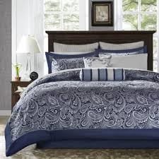 Black And White Paisley Comforter Paisley Comforter Sets For Less Overstock Com