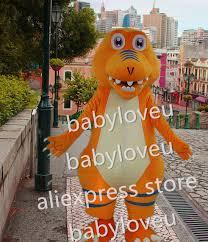 Halloween Costumes Dinosaur Aliexpress Buy Buddy Dinosaur Mascot Costume Fursuit