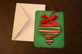 make a christmas card handmade christmas cards with a removable ornament chica and jo