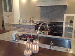 best fresh copper backsplash behind stove 8713