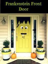 front doors cozy front door hallowesen decor front door