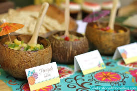 entertaining tropical themed party ideas free printables