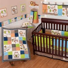 Sumersault Crib Bedding Sumersault Animal Patch Crib Bedding Collection Baby Bedding And