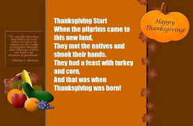 thanksgiving poems 2017 thanksgiving day poems