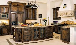 tuscan kitchen island tuscan style kitchen brick or colorful vintage tile is
