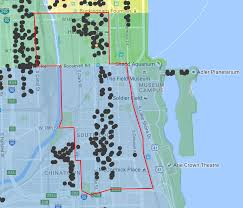 Chicago City Limits Map by How To Find Parking In The South Loop Easy Chicago Parking