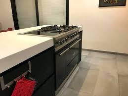 fourneau de cuisine piano cuisine lacanche fourneau lacanche noir avec four gaz