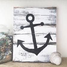 Rustic Nautical Home Decor Rustic Nautical Pallet Board Art Ocean Signs Nautical