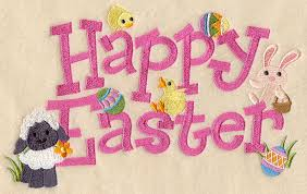 happy easter decorations machine embroidery designs at embroidery library embroidery library